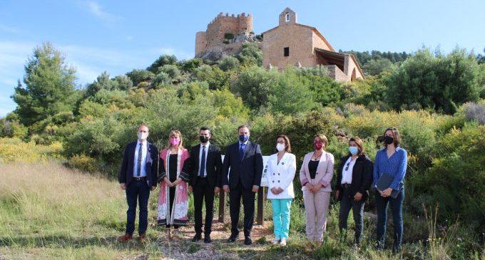 Ábalos visita el castell de l'Alcalatén i la Real Fabrica de l'Alcora