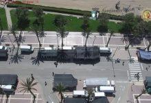 La Policia Local de Vinaròs realitza tasques de prevenció i vigilància amb el dron