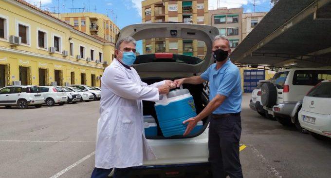 El Parc Mòbil de la Diputació col·labora en el trasllat de vacunes als centres de salut de la província
