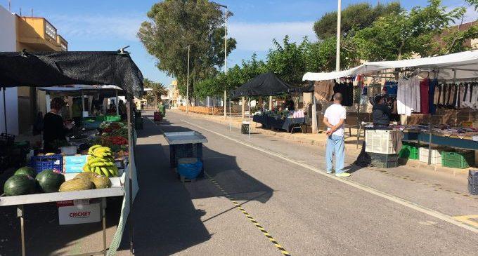Nules amplia el mercat ambulant de les platges