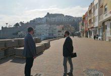 Peníscola encara el final de la reurbanització de l'Avinguda de la Mar