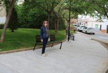 Finalitza la millora del parc del carrer Guitarrista Tárrega a l'Alcora