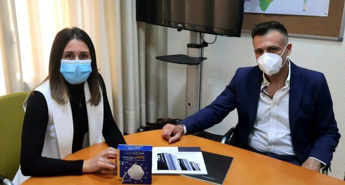 La Diputació i 'Grup Zona' impulsaran la recuperació esportiva amb 50.000 mascaretes