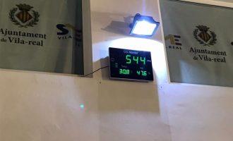 El SME instal·la mesuradors de CO₂ per a controlar la qualitat de l'aire i millorar la seguretat dels espais esportius davant la covid-19 a Vila-real