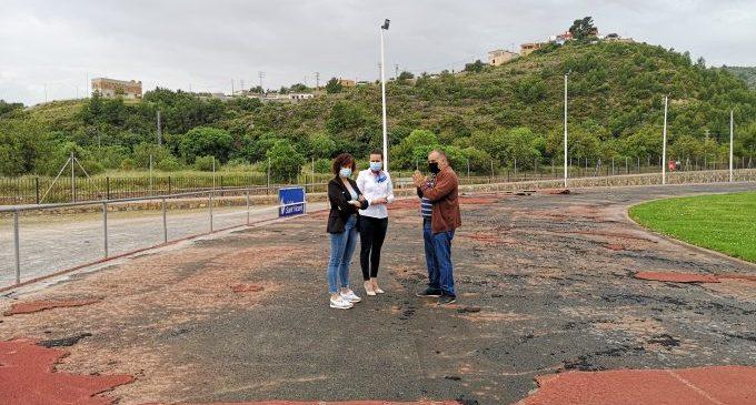 L'Ajuntament de la Vall d'Uixó controlarà que es complisca el contracte de les obres de la Pista d'Atletisme
