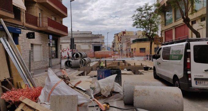 La setmana que ve es tallarà la circulació de l'avinguda de la Llibertat de Vinaròs per les obres dels pluvials