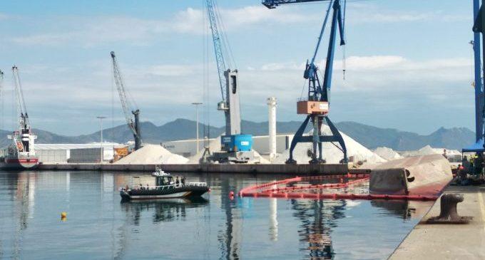 Se suspende el operativo de búsqueda del estibador desaparecido en el puerto de Castellón