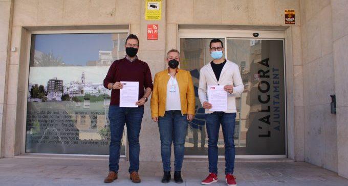 L'equip de govern de l'Alcora registra una moció per a sol·licitar a la Generalitat una línia d'autobús l'Alcora-Onda