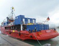 Arriba al port de Borriana el 'SEA EYE 4', una nova embarcació per a rescatar vides al Mediterrani