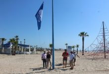 Las playas de Burriana renuevan sus banderas azules