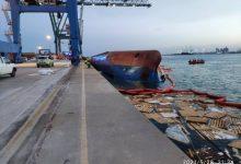 Localitzen el cos sense vida d'un dels homes desapareguts en bolcar un vaixell en el port de Castelló