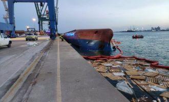 Es reactiva la recerca de l'estibador desaparegut en el port de Castelló
