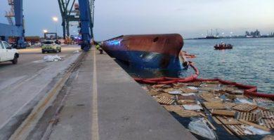 Se reactiva la búsqueda del estibador desaparecido en el puerto de Castellón