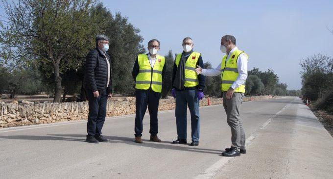 La Diputación incrementa un millón de euros la inversión en conservación de carreteras