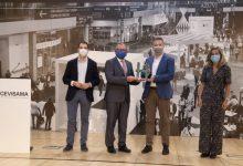 La Diputació inaugura la versió online de Cevisama 2021 premiant a Rocersa per la innovació en el sector ceràmic