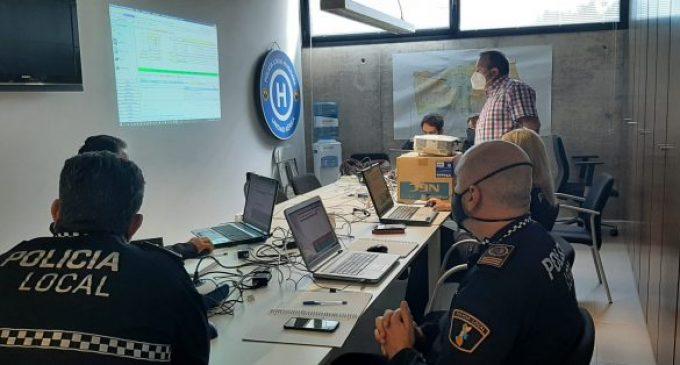 La Policia Local de Borriana renova el sistema informàtic de gestió policial