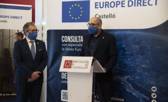 La Diputació renova conveni amb la Comissió Europea i continuarà sent l'antena d'Europa a la província fins a 2025