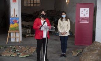 La Diputació de Castelló estudiarà amb els tècnics l'estat del mural de 8.000 peces de ceràmica abandonat durant 21 anys