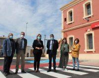 Finalitzen les obres d'ampliació i adequació de l'aparcament de l'estació Borriana-Alqueries