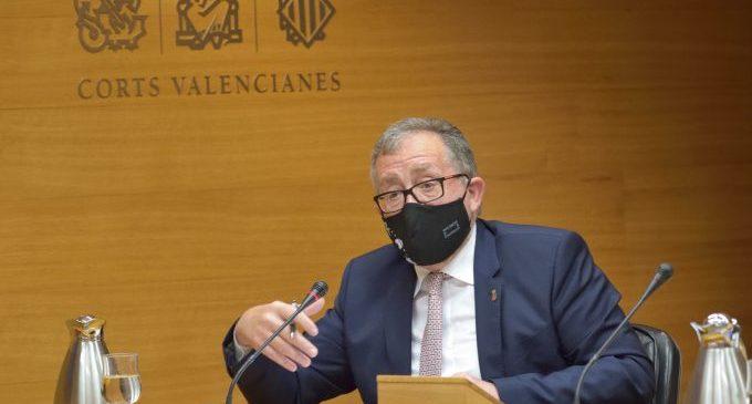 Martí defensa en les Corts una discriminació positiva a favor dels xicotets pobles en el futur Fons de Cooperació Municipal