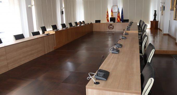 L'Ajuntament de Vila-real reprén aquest mes els plens presencials amb distància de seguretat i limitació d'aforament