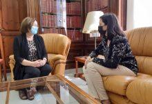 Benicarló transmet a la nova directora territorial de Presidència les seues reivindicacions i posa el focus en el conservatori
