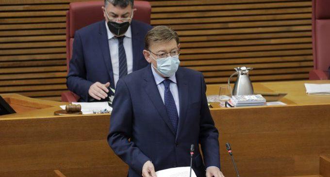 Puig destaca que los indicadores sociales y económicos de la Comunitat Valenciana son mejores que en 2015 pese a la pandemia