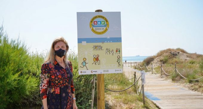 El Serradal de Castelló entra a formar parte de la Red de playas sin humo de la Comunitat Valenciana