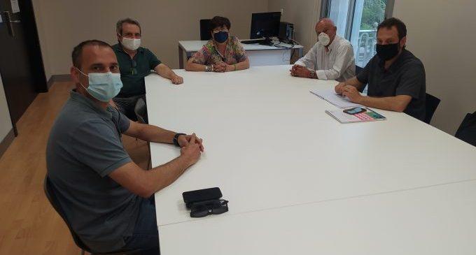 Castelló aborda amb el subdirector general d'Economia Social la primera promoció d'habitatge cooperatiu en cessió d'ús
