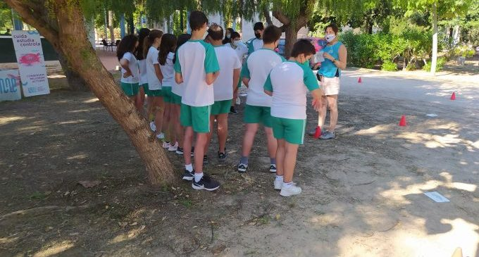 Alumnes de secundària coneixen la biodiversitat de Castelló en una gimcana escolar