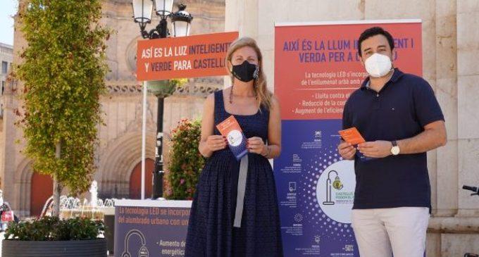 L'il·luminat LED de Castelló mostra un impacte positiu sobre el clima, la seguretat i l'estalvi