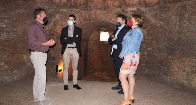 olomer posa en valor la recuperació de la Reial Fàbrica com a revulsiu turístic i cultural