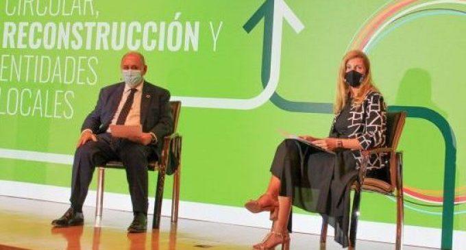 Castelló exposa la seua experiència de transformació cap a un model urbà més sostenible en el fòrum d'Economia Circular de la FEMP