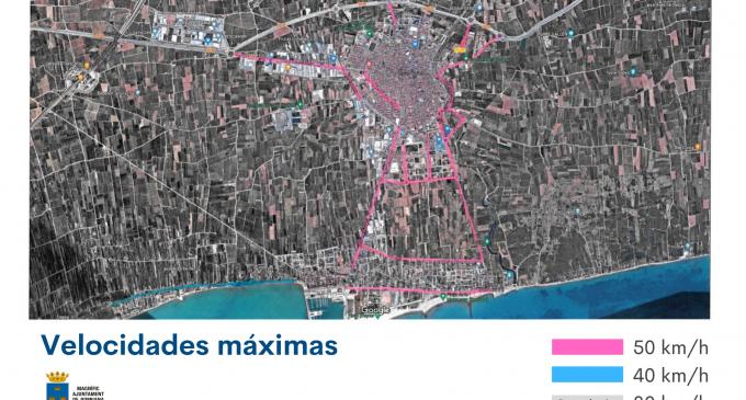 Borriana permetrà la velocitat màxima de 50 km/h en alguns carrers