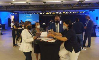Aerocas promociona la conexión aérea con la capital vasca en un encuentro entre empresas turísticas