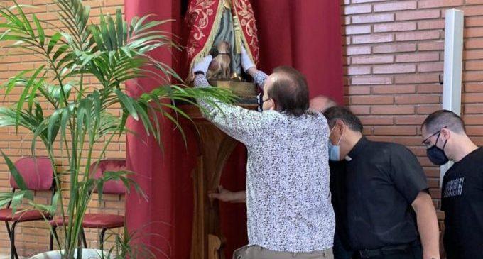 Santa Quitèria recorre las iglesias de Almassora ante la 'tornà' a la ermita