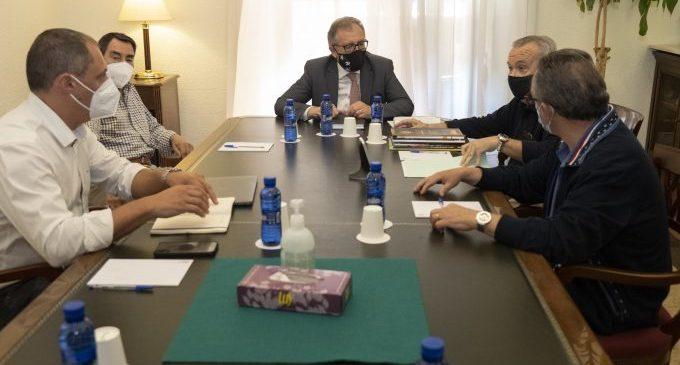 Martí coordina amb la Confraria de l'Arròs i la Taronja de Castelló la presència de 'Castelló Ruta de Sabor' en el Congrés Enogastronòmic de Verona