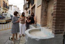 La Vall d'Uixó restaura la Font de Bessols per a posar en valor el Camí de l'Aigua