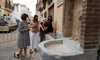 La Vall d'Uixó restaura la Font de Bessols para poner en valor el Camí de l'Aigua