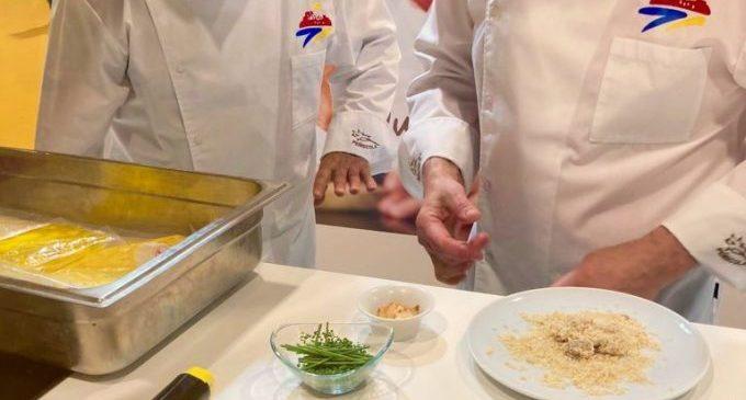 Peníscola promociona la seua gastronomia marinera a Madrid Fusión