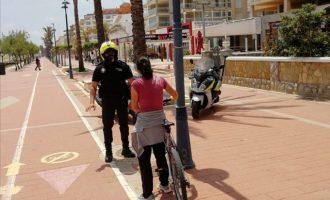 El Paseo Marítimo de Peñíscola da prioridad a peatones