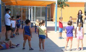 Las escuelas de verano de Nules cuentan con la participación de cerca de 500 niños y niñas