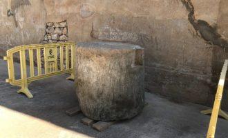 Una vecina de l'Alcora dona una pieza de época romana al Museu de Ceràmica