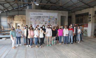 L'Alcora inaugura tres nuevas exposiciones en la Real Fábrica del Conde de Aranda