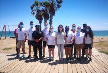 Once jóvenes se incorporan para informar sobre la Covid en las playas de Almassora