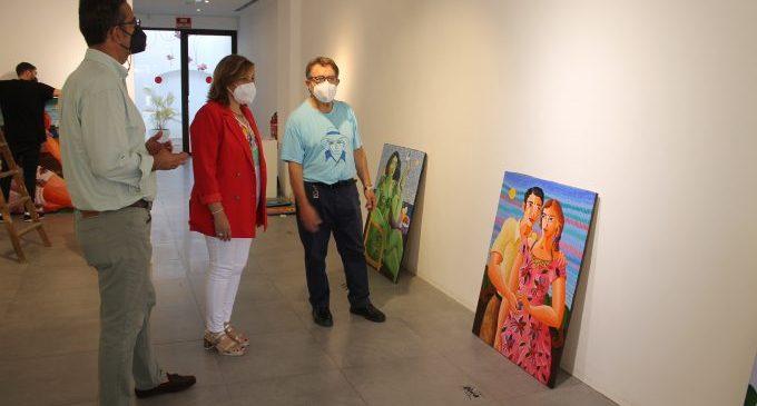 Luis Bolumar trae su alegría de vivir al Centro Cultural Melchor Zapata de Benicàssim