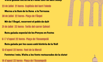 'Nits d'històries i historietes', un proyecto para realizar visitas guiadas y conocer la historia de la Vall d'Uixó