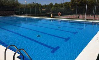 La piscina de Almenara vuelve a abrirse al público y ofrecerá cursos de natación