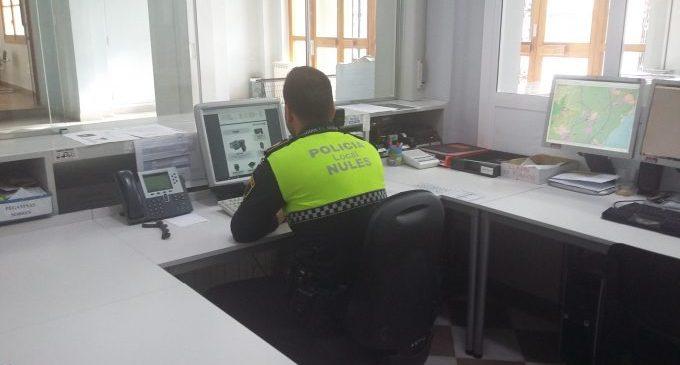 La Policia Local de Nules compta amb un nou dispositiu per a primers auxilis