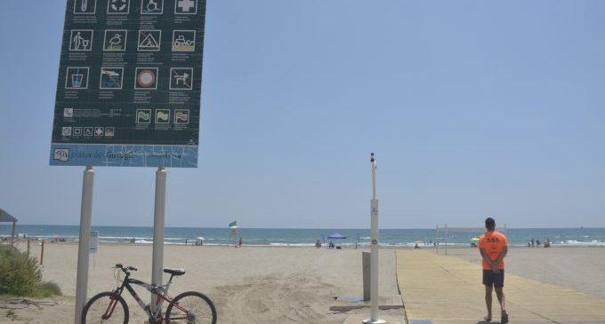 La playa del Gurugú vuelve a abrir tras cerrar el lunes al detectar contaminación de origen residual